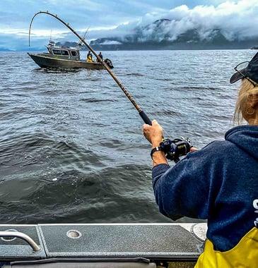 Fish On!! Lady Angler